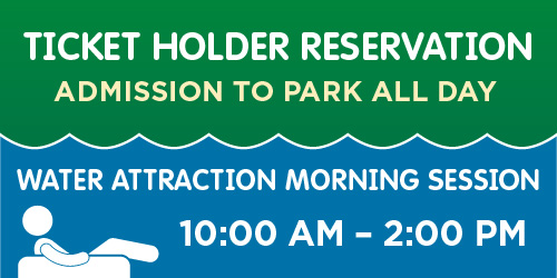 Ticket Reservations Morning Sessions