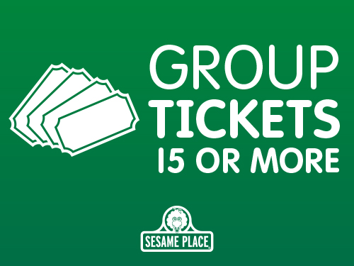 Discount Offers on Tickets | <b>Sesame Place</b>