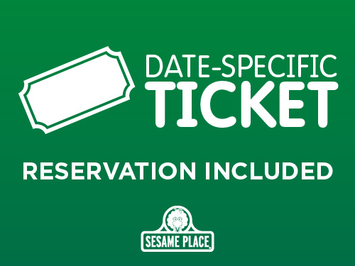 Date Specific Ticket - Reservation Included