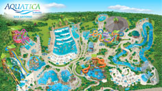 Aquatica San Antonio Park Map