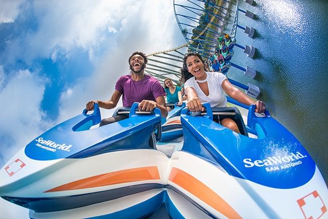 WaveBreaker: The Rescue Coaster at SeaWorld San Antonio