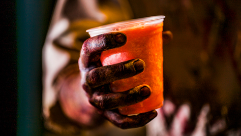 Specialty Beverages at Howl-O-Scream
