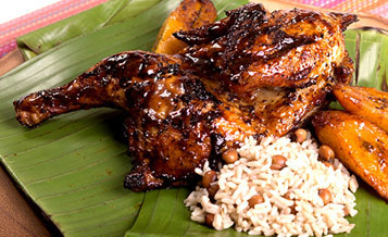 Jamaican food at SeaWorld San Antonio Seven Seas Food Festival