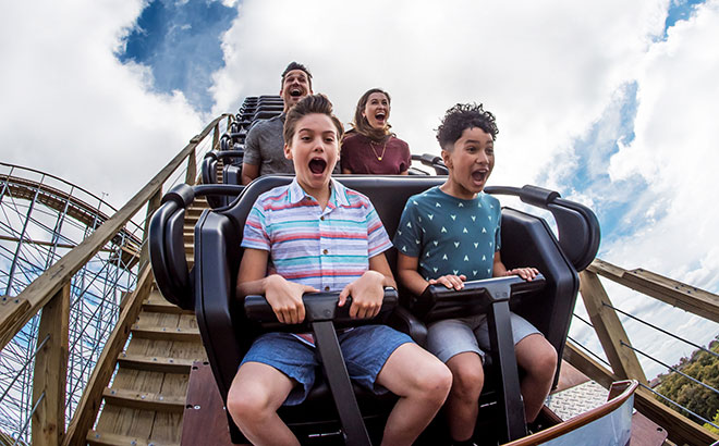 Ride the all new Texas Stingray roller coaster at SeaWorld San Antonio