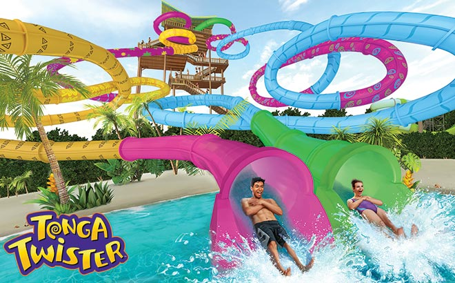 All-new Tonga Twister at Aquatica San Antonio