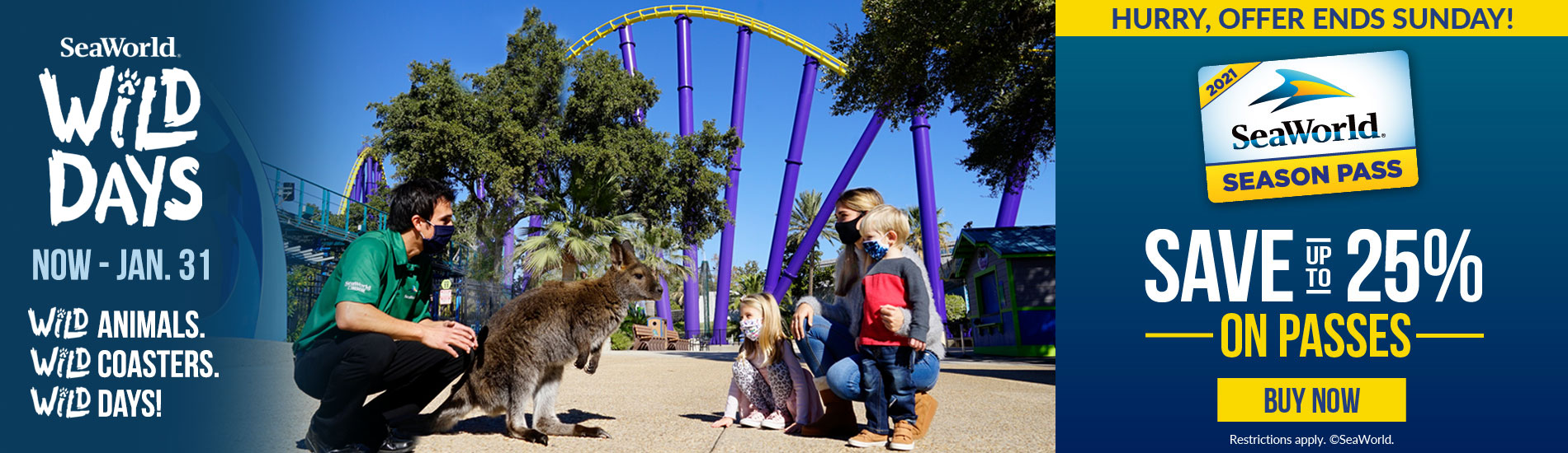 Wild Days at SeaWorld San Antonio