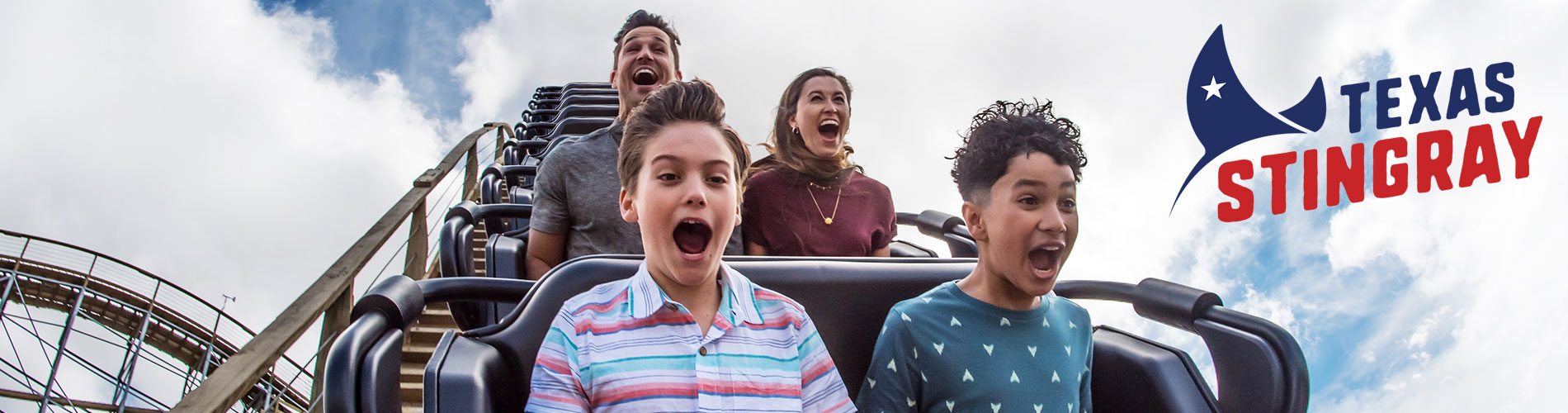 Ride the all new wooden roller coaster at SeaWorld San Antonio