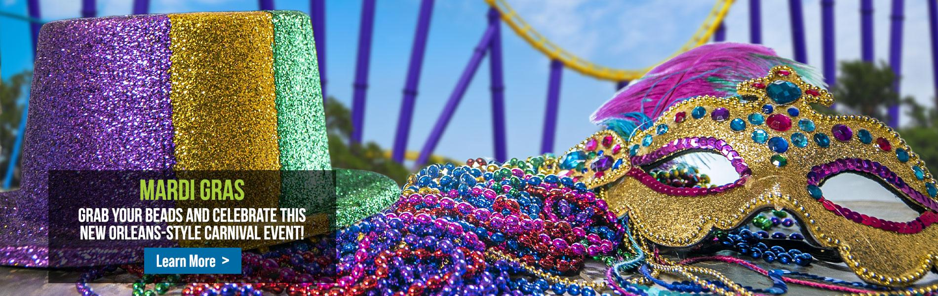 Mardi Gras at SeaWorld San Antonio