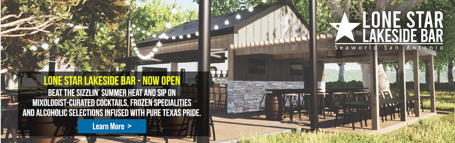 Lonestar Lakeside Bar Now Open