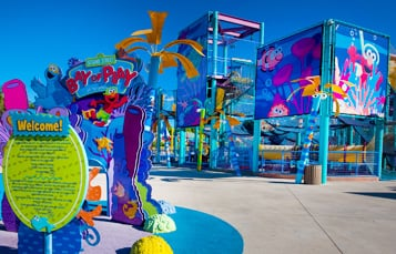 Sesame Street Bay Of Play Texas Kids Theme Park Seaworld San Antonio