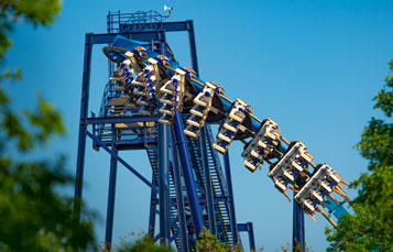 Great White Roller Coaster at SeaWorld San Antonio, Texas