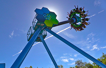 Sea Swinger at SeaWorld San Antonio