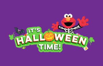 Its Halloween Time Sesame show at SeaWorld San Antonio