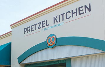 Pretzel Kitchen at SeaWorld San Antonio