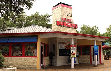 Rio Grill Burgers at SeaWorld San Antonio