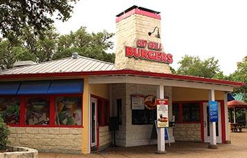 Rio Grill Burgers at SeaWorld San Antonio