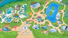 seaworld map san antonio Seaworld Theme Park Texas Animal Attractions Seaworld San Antonio seaworld map san antonio