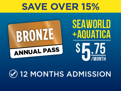 SeaWorld & Aquatica Pass End of Summer Sale