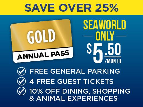 SeaWorld Pass End of Summer Sale