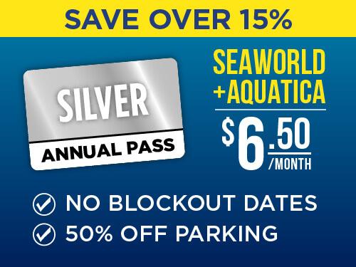 SeaWorld & Aquatica San Antonio 2-Park Silver Pass