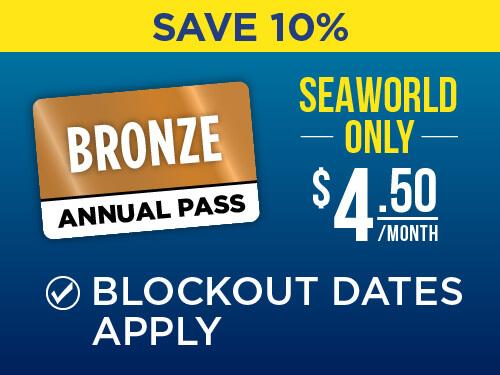 SeaWorld San Antonio Bronze Pass