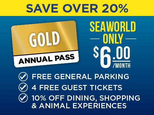 SeaWorld San Antonio Gold Pass