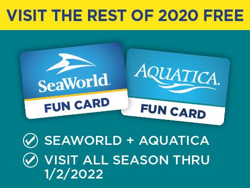 SeaWorld & Aquatica Fun Card