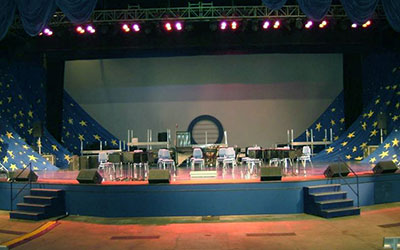 Nautilus Amphitheater Group Events SeaWorld San Antonio