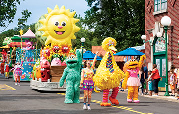 Sesame Street Party Parade