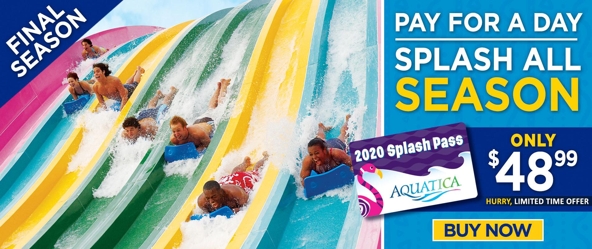2020 Splash Pass