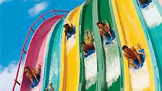 Ride and Slides at Aquatica San Diego