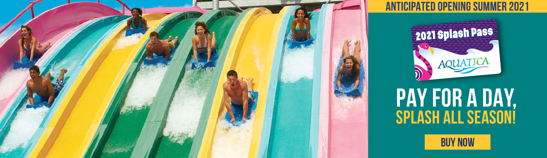 Pay for a day splash all season