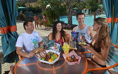Private Water Park Cabana Rental