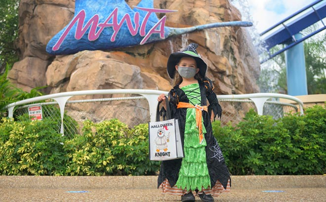 Show off your costume at SeaWorld's Spooktacular event