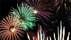 See fireworks at SeaWorld
