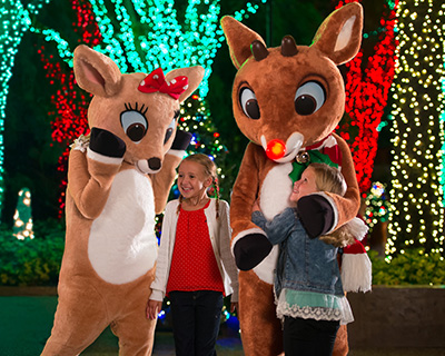 Christmas Celebration Rudolph Characters