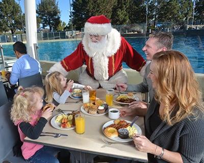 Christmas Celebration Santa Orca Dine