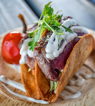 Seven Seas Food Festival Angus Beef Tacos
