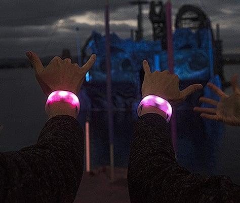 SeaGlow Wristband