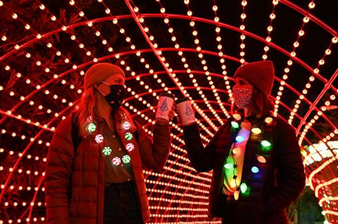 Enjoy Hot Chocolate at SeaWorld San Diego Christmas Celebration