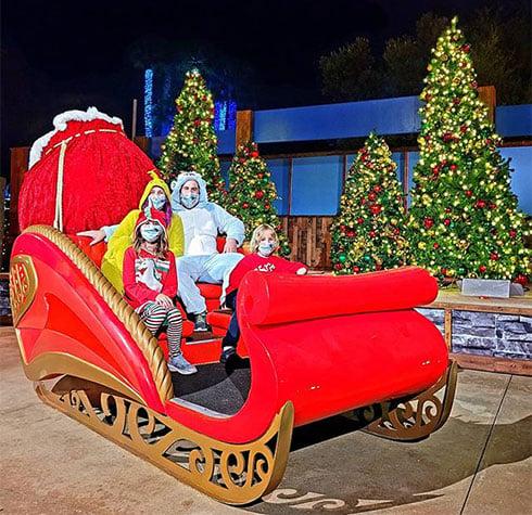 Christmas Sleigh at SeaWorld San Diego Christmas Celebration