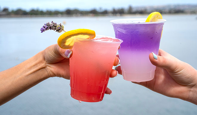 Spring Break drinks at SeaWorld San Diego