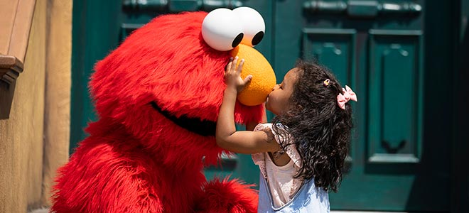 Meet and Greets at Sesame Place San Dieog