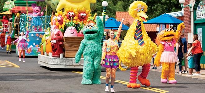 Sesame Street Neighborhood Parade