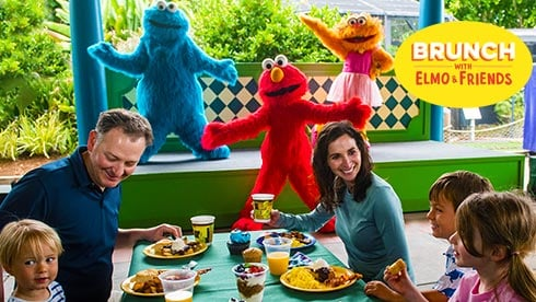 Brunch with Elmo dining experience at SeaWorld San Diego