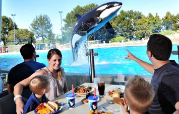 Seaworld Restaurants California Theme