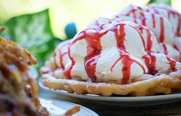 Pies at Pineapple Petes SeaWorld San Diego