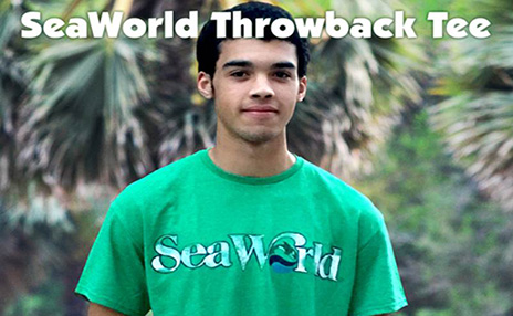 SeaWorld Throwback Tee