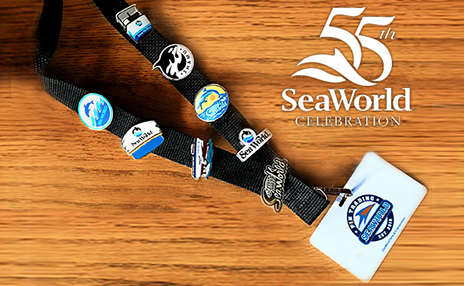 SeaWorld Retro Pins