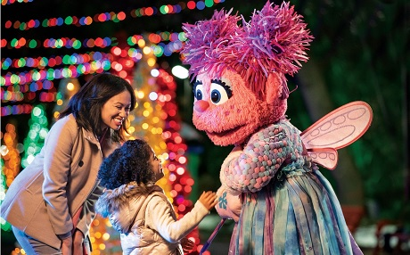 Sesame Street Christmas Village at SeaWorld San Diego